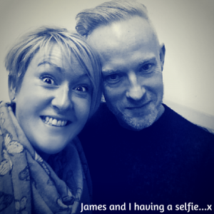 James and I having a selfie