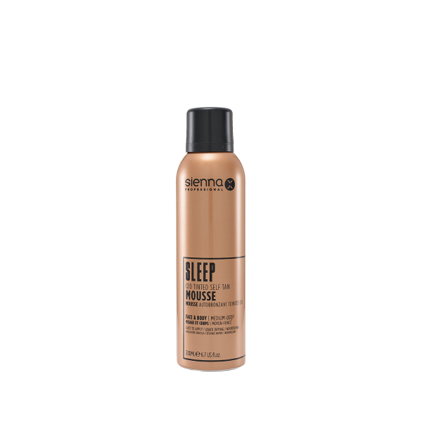 Sienna X Sleep Tan Mousse